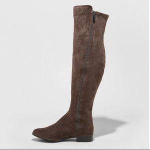 A New Day Breanna Size 7.5 Over the Knee Boots
